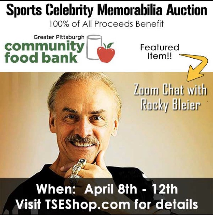 This week @TSE is having a special auction to raise funds for the @PghFoodBank Starts: Wednesday, April 8th @ NOON Ends: Sunday, April 12th @ 8:00pm* EST Link to Auction: 32auctions.com/TSEFoodBankAuc…