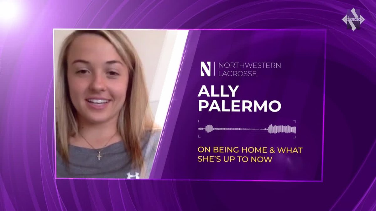 Image for the Tweet beginning: Cat Chats: Ally Palermo  The @NULax