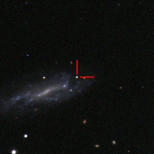 The Type Iax supernova 2019muj in LEDA9272, 100 million light years away. #ucsctransients #swopetelescope