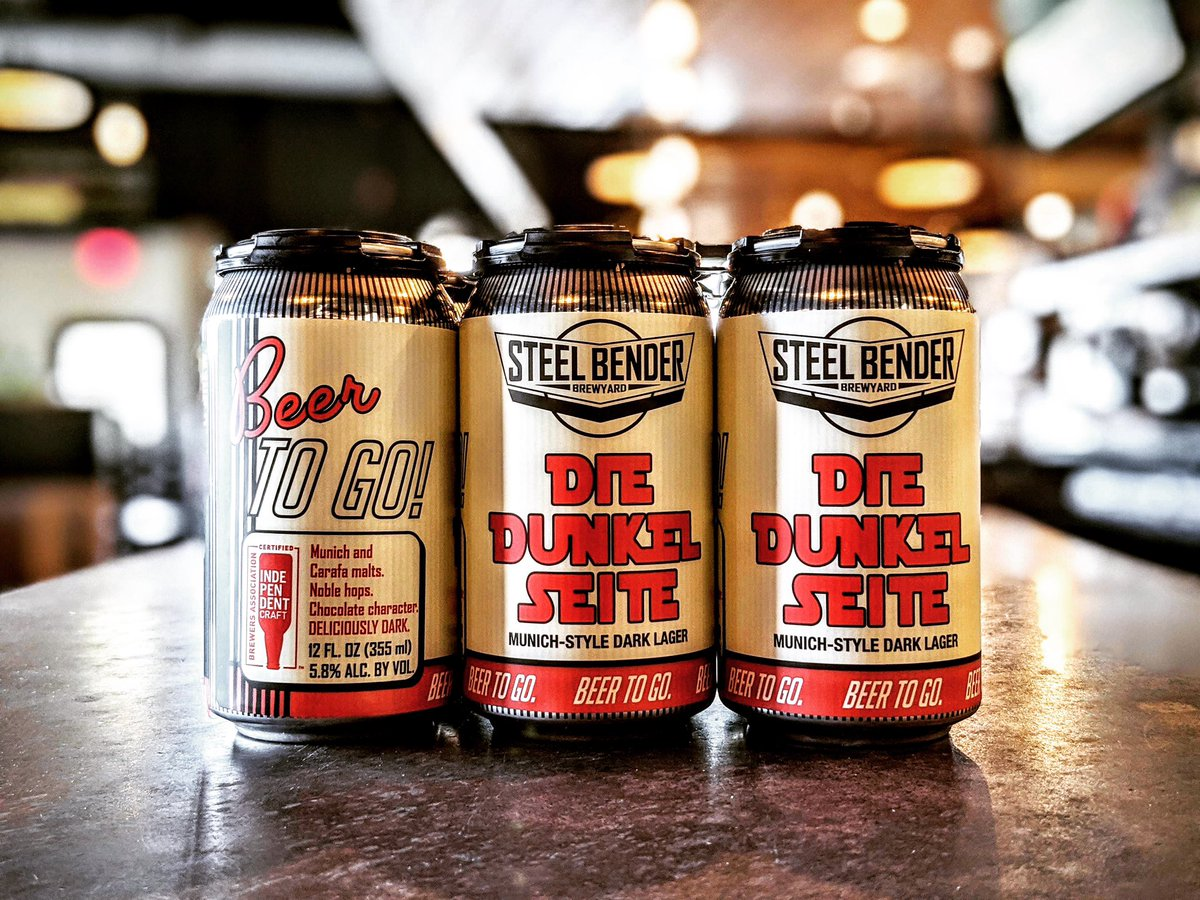 Tomorrow is the release of the first of five of our Speedy To Go draught beers in 6-packs, starting with Die Dunkel Seite. Order on our website noon-7pm!  #strongerthansteel #staystrongNM #builttobrew #supportlocal #NMBeerLove ⠀⠀ #NMCraftBeer #craftbeer #NewMexicoBeer https://t.co/IFtbHjVqUv