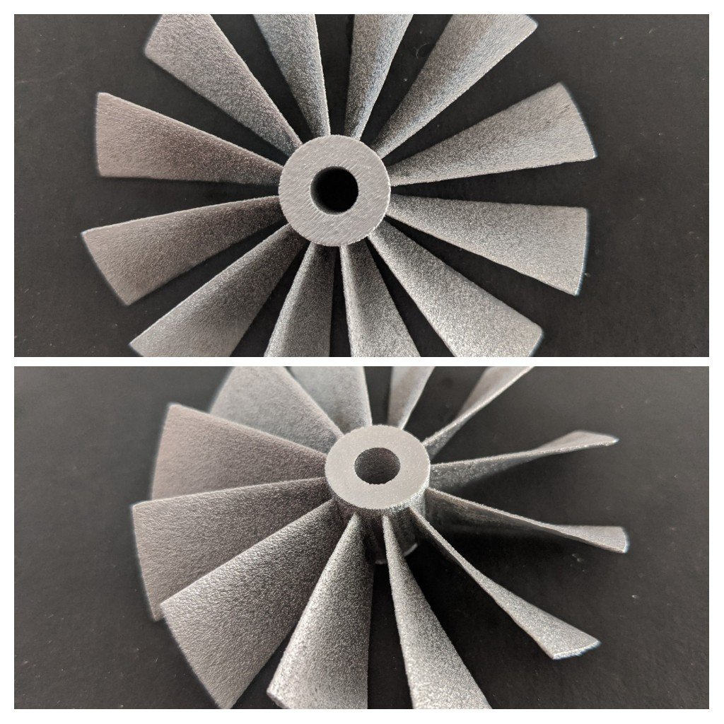 Metal SLM 3D Printed part with Stainless Steel 316L for a customer showcased here. Meanwhile if you think metal Printing might help you optimize your manufacturing, do let us know and we can help you analyse it right from our home. #covid19 #metal3dprinting #3dprinting #vexmatech