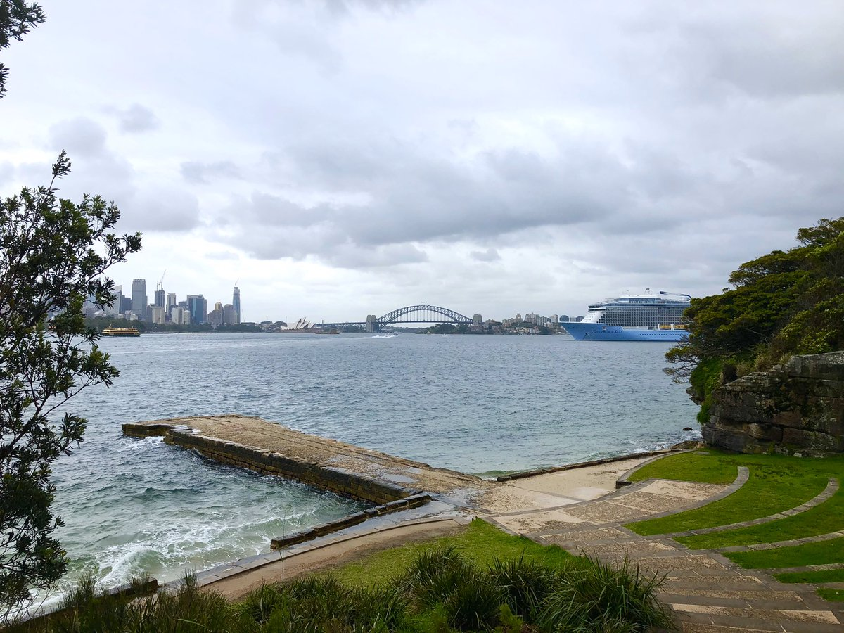 Morning run #sydney is stunning even without the sun!  pic.twitter.com/waSJw2tBwh