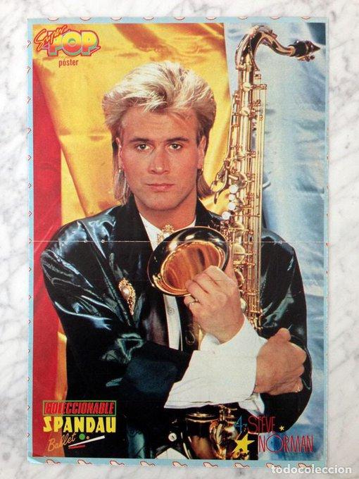 Spandau Ballet - True  via Happy Birthday saxophonist Steve Norman