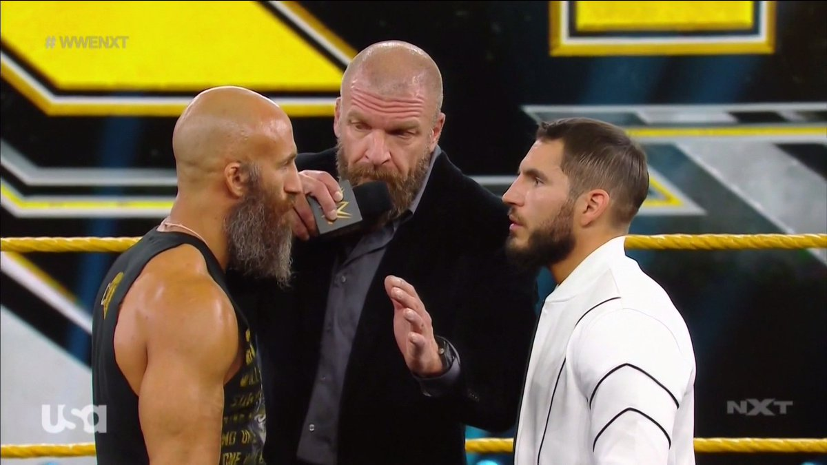 EVEN WITH NO AUDIENCE THIS FEUD  CONTINUES TO IMPRESS.  #WWENXT  <br>http://pic.twitter.com/UuaEoktMjG