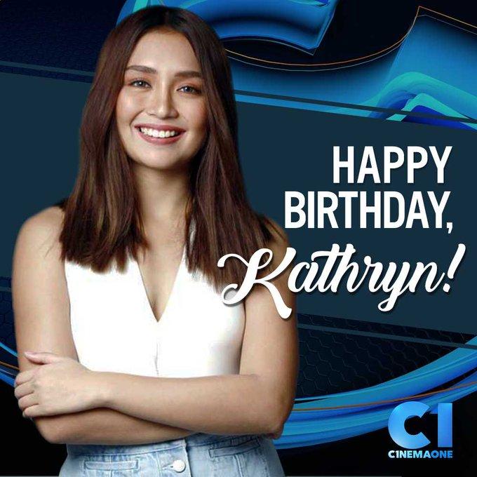 Happy birthday, Kathryn Bernardo (  From