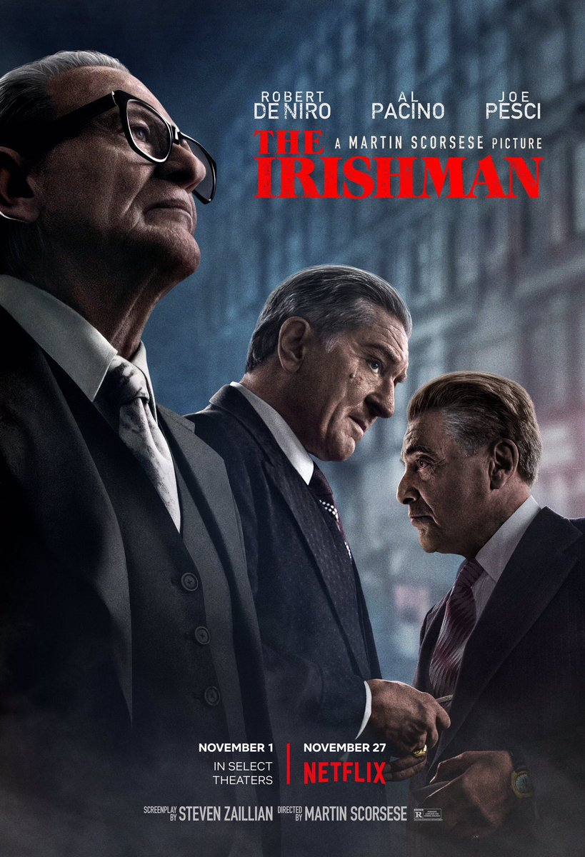 Got the opportunity to finally sit down and watch The Irishman last night! What an amazing film!! Had a couple of buddies tell me it was boring and nothing happened, but for me it was Scorsese at his finest storytelling! #TheIrishman #topnotch<br>http://pic.twitter.com/eLzDGxHRGY