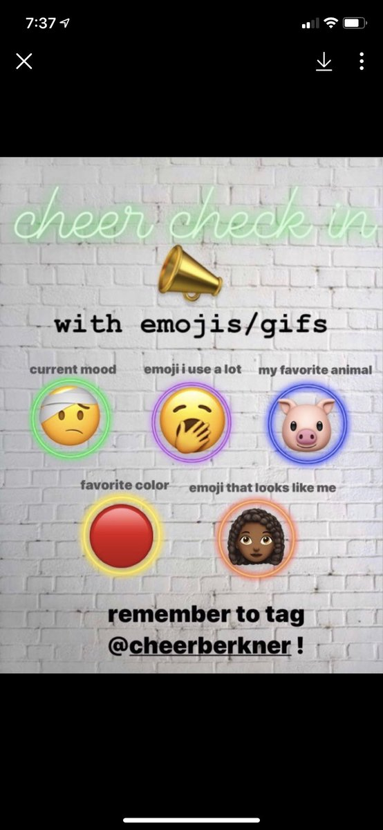 test ツイッターメディア - We are ready to go back to school! Here are some emoji style check ins from our new cheerleaders! Fun way to connect our new squad with returners and to see we DO all have some similarities!!  #wemissschool #teambuilding #readyfortheFall! https://t.co/Y0nn3BKHrJ