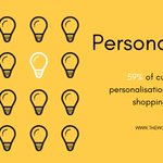 Image for the Tweet beginning: While basic personalisation drives #sales,