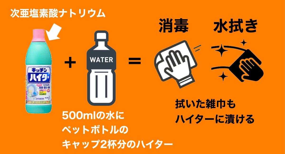 酸 次 亜 キッチン ハイター 塩素