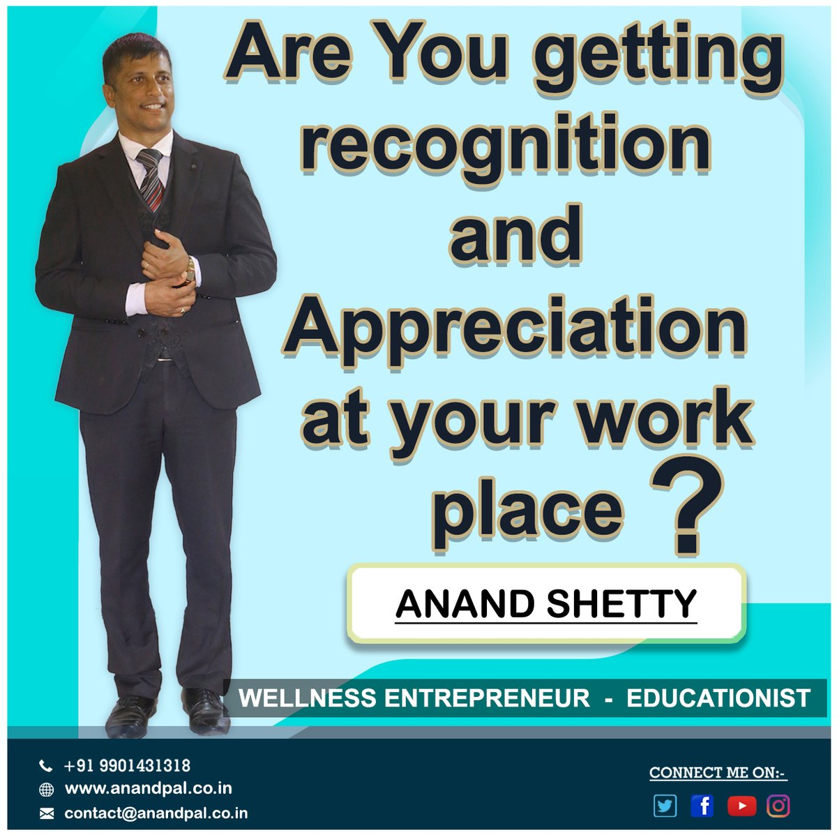 How would you like to work for a company where your hard work gets regular recognition and appreciation?       For a revolutionary Beginning in your Life Call Immediately +91 9901431318  #anandpal #anandshetty #sattvaa #aadya #winningteam #vestigepic.twitter.com/LLGJLmFUvx