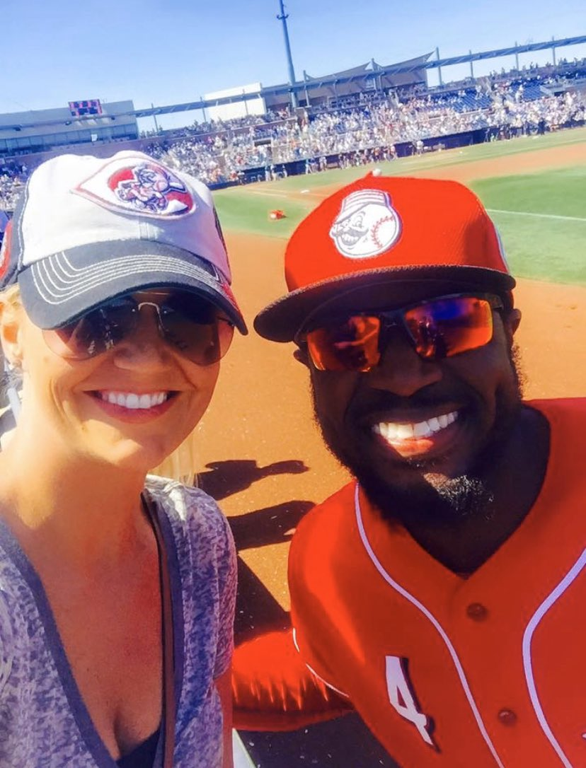 In honor of what would be opening day tomorrow..If you're a baseball fan please join the challenge of posting a baseball photo. Let's share some great memories/pics!   #BaseballChallenge @DatDudeBP @Reds https://t.co/9QTYLqnSPf
