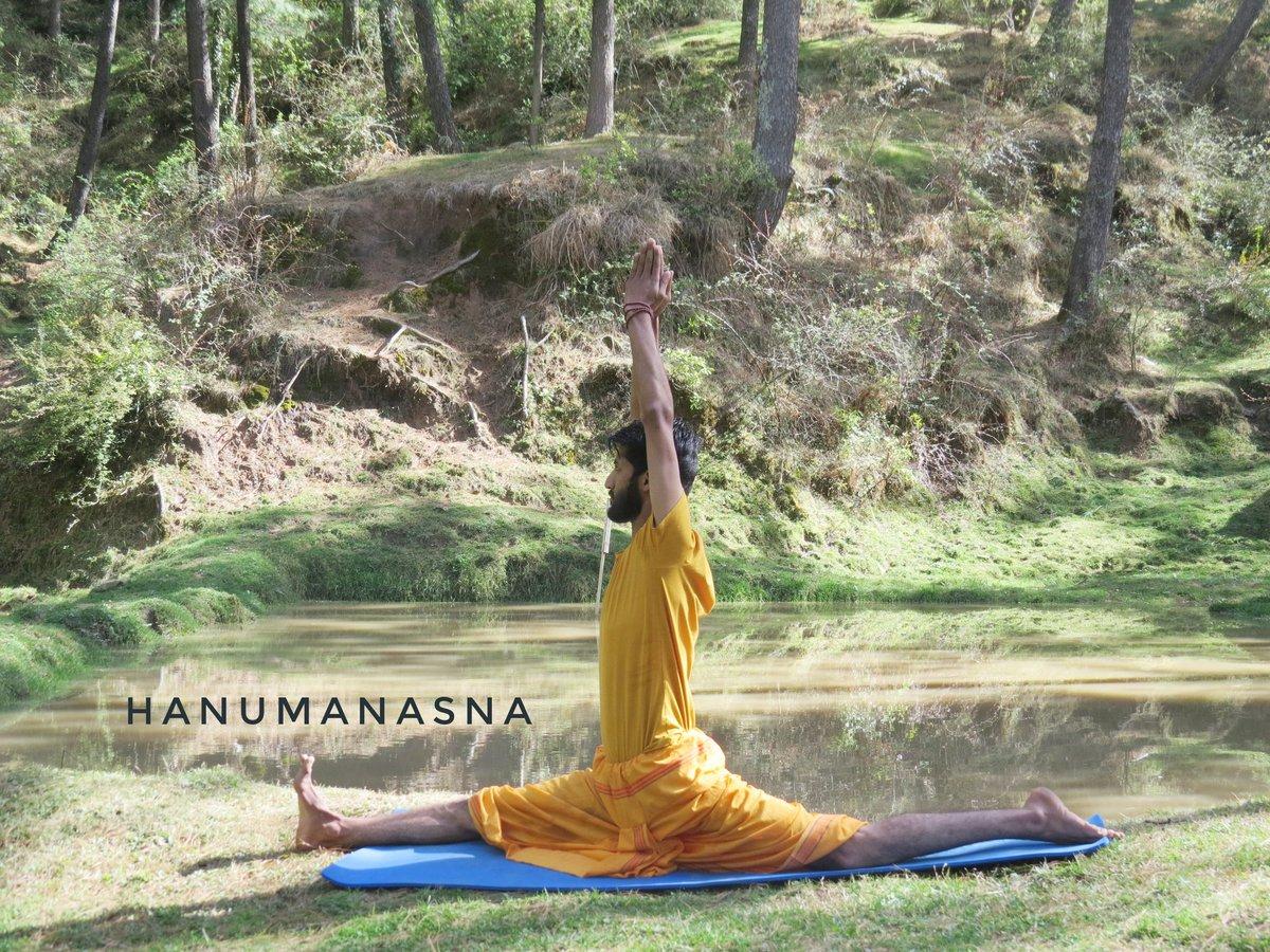 Hanumanasa In the lap of Nature Keep Distance from Ambitious Fools. #hathayoga #yogini #yogaeverywhere #asana #yogateacher #yogaeverydamnday #yogapractice #yogalove #yogainspiration #yogalife #chakrasana #dsvv #corona #giadacampanella #yoga #smartyoga #yogapractice #coronaviruspic.twitter.com/62NyG4hauM