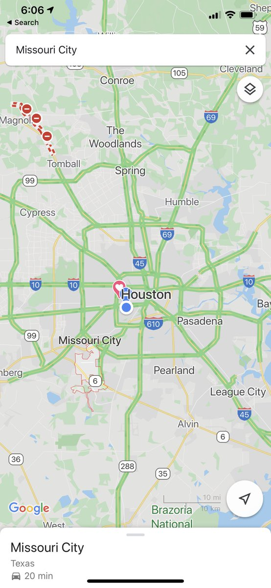 I don't think I'll ever see this again in my lifetime. Just so wild.   #Houston, good job staying home and helping to #FlattenTheCurve.pic.twitter.com/c4L6MNJRB7