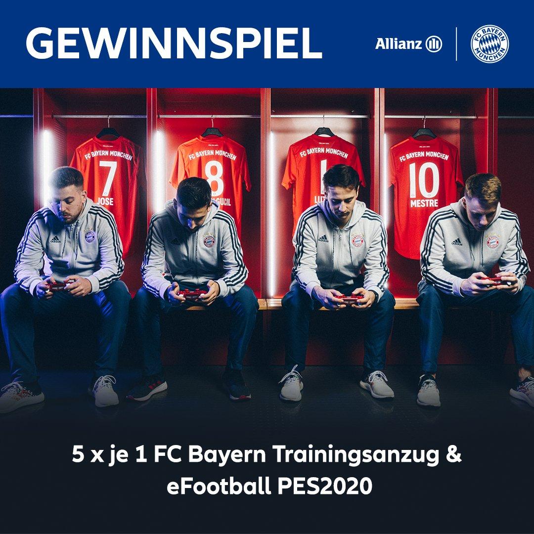 FC Bayern Esports 🆚 Juventus Turin  Tippt das Endergebnis als Kommentar und habt die Chance auf  1️⃣ von 5️⃣ Champions Packages.  Tipp: Addiert die Tore aus Hin- und Rückspiel. 😉  👉🏼 Live ab 17:00 Uhr ⏩ https://twitch.tv/fcbayernesports ℹ️ T&Cs: https://fc.bayern/AllianzGW