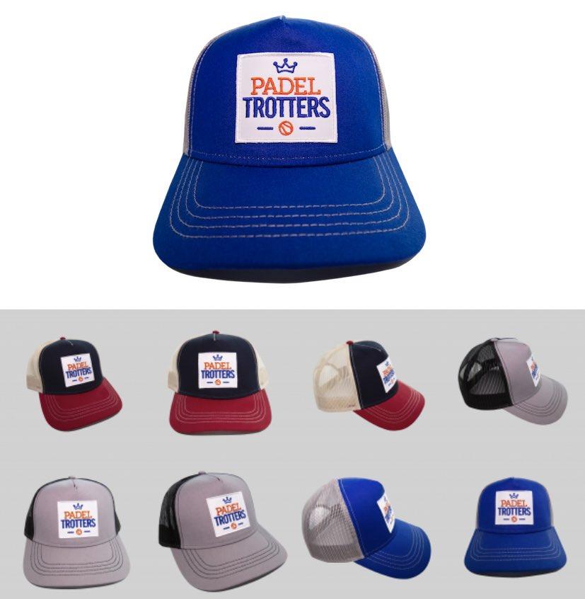 Ya han llegado las nuevas gorras 🧢 de edición limitada de #PadelTrotters 🤩 ¡Ay que nos las quitan de las manos! 😅 ➡️ https://t.co/HriusmNGLW https://t.co/EhGFXwVBdc