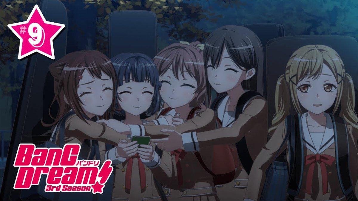 test ツイッターメディア - 本日22時30分より、YouTube「バンドリちゃんねる☆」にて、アニメ「BanG Dream! 3rd Season」#9 『いくぞポピパ』が放送されます!#バンドリ https://t.co/MTMPM9mEK6
