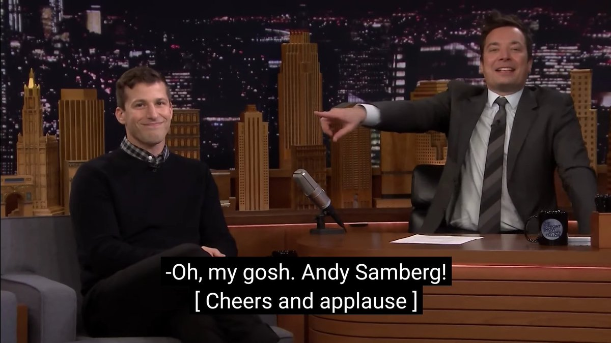 Andy Samberg trending for no reason other than people saying they love him is a whole ass mood <br>http://pic.twitter.com/mIa0a5iPgr