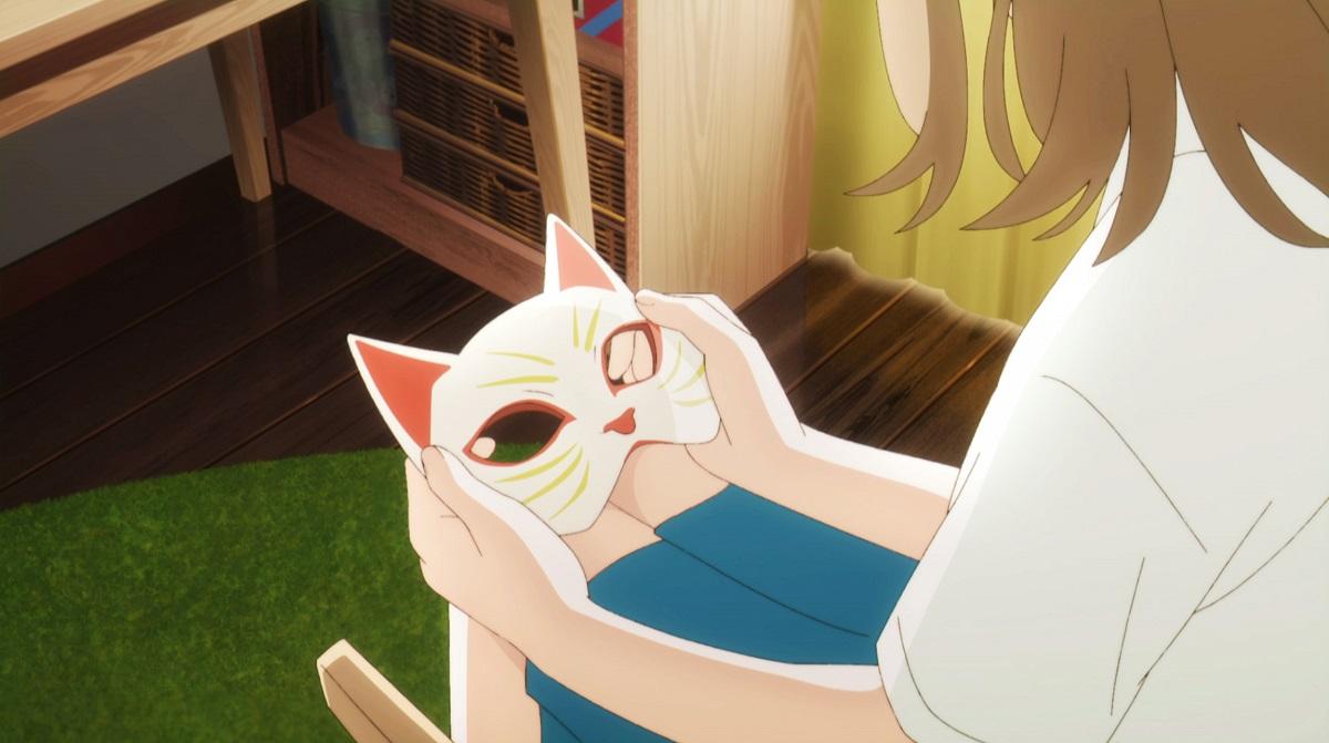 test ツイッターメディア - お面をつけると猫に変身できるムゲ🐈人間のときには距離を取られてしまうが、猫のときには近づける「好きな人」との関係。猫として生きるか、人間のままでいるか…爽やかな青春ストーリー『泣きたい私は猫をかぶる』6月5日公開🐱 https://t.co/4f64GnVBn3 主題歌はヨルシカ「花に亡霊」 https://t.co/JSTnybVCK4