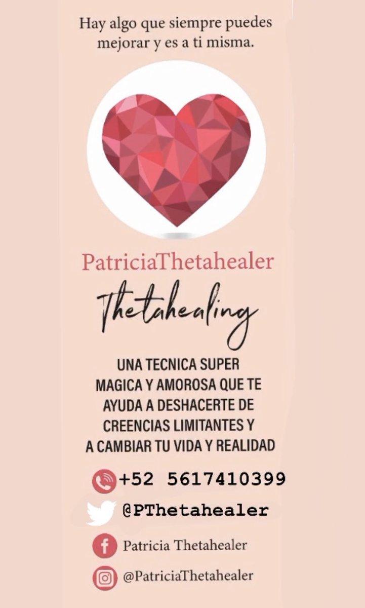 Terapias de Sanacion Con la técnica de Thetahealingpic.twitter.com/4ovjuIRbn7