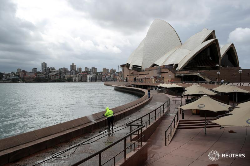 Cruise ships told to 'immediately' leave Australian waters, after the country's worst outbreak of the coronavirus was traced to a cruise liner that docked in Sydney Harbour last week https://reut.rs/3ambGpL by @_KateLamb @Swatisays Live updates: https://reut.rs/2UPQJx9