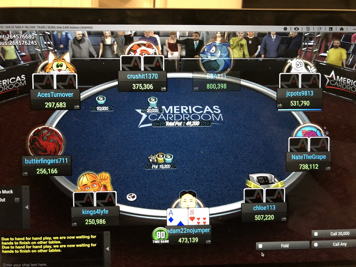 Final table time