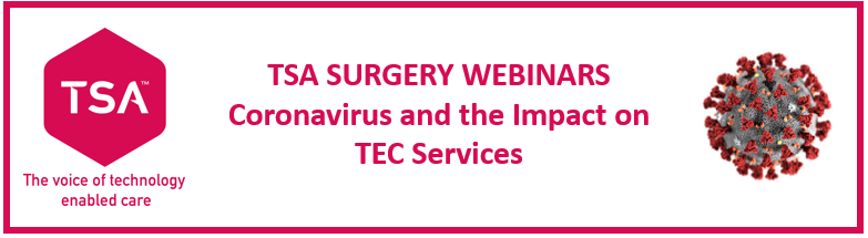 Service Provider Members - were launching a new series of Surgery Webinars starting today! Look out for an email invite if youre primary contact for your org, tell us your #TEC  service challenges & successes during #COVID2019 . Ask us questions. This will help us to help you!