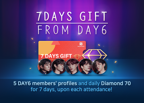 Superstarjypnation On Twitter Https T Co Bv6e3sd6uz 6 1 It Is A Known Fact That There Are So Many Bops In Day6 Discography That Playing The Missions Only Gets Fun By Time Day6 Premium Pack Rewards My day day6 official fan colors: twitter