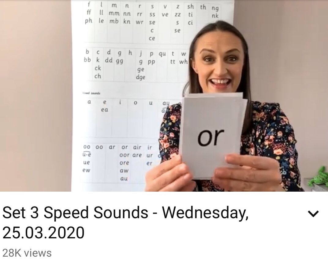 Dallowprimary On Twitter Read Write Inc Phonics Is Beginning Now On Their Youtube Channel What Sound Will You Be Learning Today Https T Co Ndpacpuwpj Ruthmiskinedu Phonics Https T Co C4j7pdcuz1