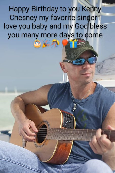 Happy Birthday Kenny Chesney