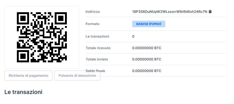 pulsante di pagamento bitcoin)