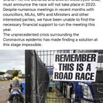 Image for the Tweet beginning: The 2020 Ulster Grand Prix