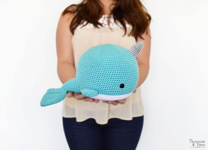 How To Crochet | Amigurumi Narwhal | Easy Beginners Project - YouTube | 573x794