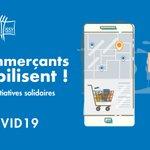 Image for the Tweet beginning: VOS COMMERÇANTS SE MOBILISENT 💪  Pour