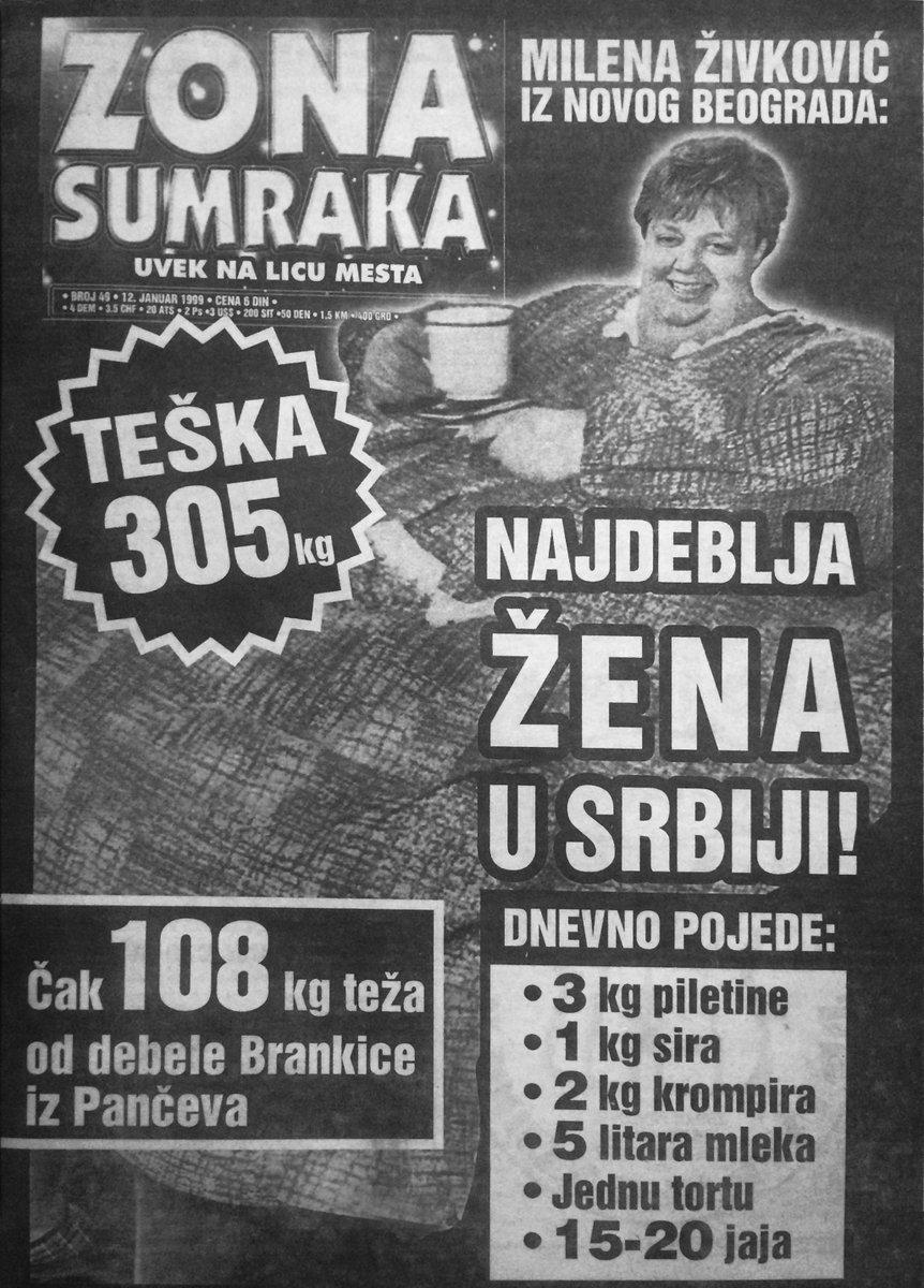 Najdeblja žena u Srbiji teška 305 KG!!!