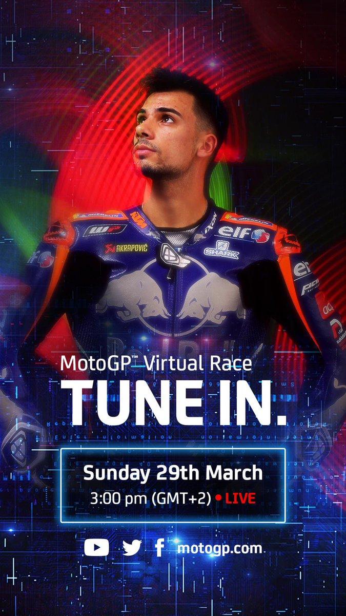 Sunday it's Race Day 🎮🏡😈 #StayAtHomeGP #turma88  @Tech3Racing @KTM_Racing @_moliveira88 @MotoGP