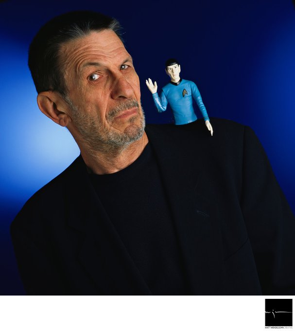 Happy Birthday Leonard Nimoy. Thanks your the stories.