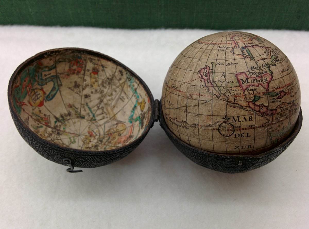 See what happened when our @BLMaps curators teamed up with @BL_Digitisation services to work some magic on 10 historic globes...