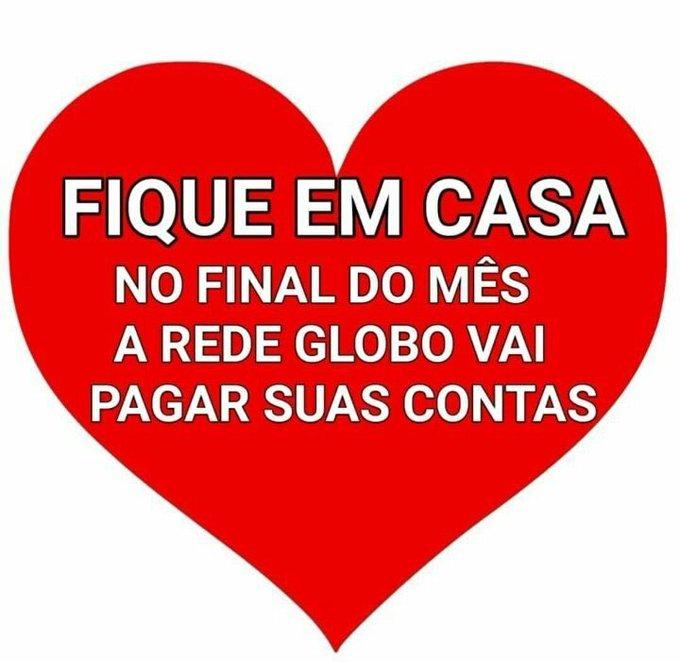 EUCKakxXsAMgSST?format=jpg&name=small - Flávio Bolsonaro usa Twitter para fazer piada com quarentena: 'Fiquem em casa, a Globo vai pagar suas contas'