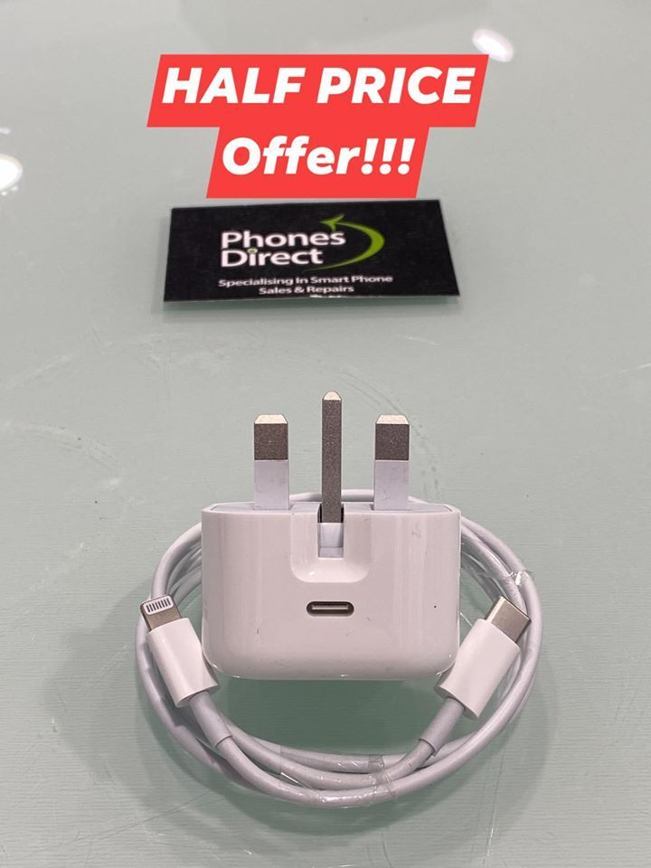 OFFER  OFFER OFFER OFFER  NEW APPLE 3A USB-C 18W Plug & USB-C to Lightning Data Cable  RRP £49.99 Offer £24.99. (Half price) ^^^^^^^^  #offer #apple #appleaccessories #new #armaghpic.twitter.com/DtNwRSSmdq