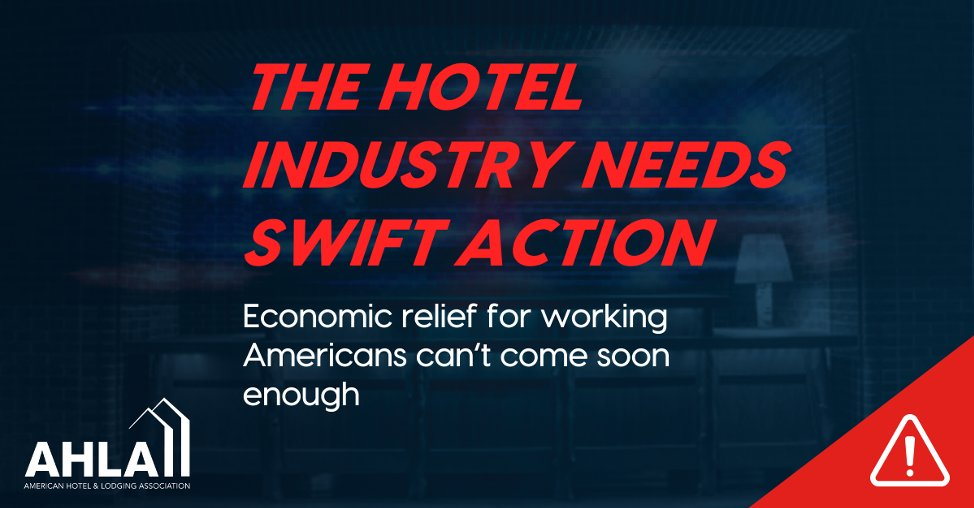 The Senate has reached an agreement to help hard-working hotel workers and #SmallBiz hotels survive #COVID19 – @SpeakerPelosi @GOPLeader, please save the millions of hotel jobs relying on swift economic action. pic.twitter.com/y7RXIOGGRC