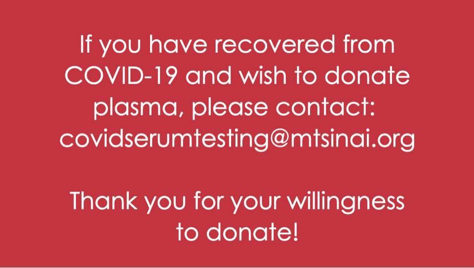 Share, save, & refer to as needed. #covid19 #serumtesting #plasma