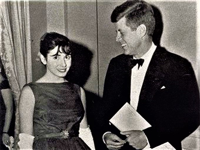 A very young Nancy Pelosi , turns 80 years old today. Happy Birthday Madame Speaker !
