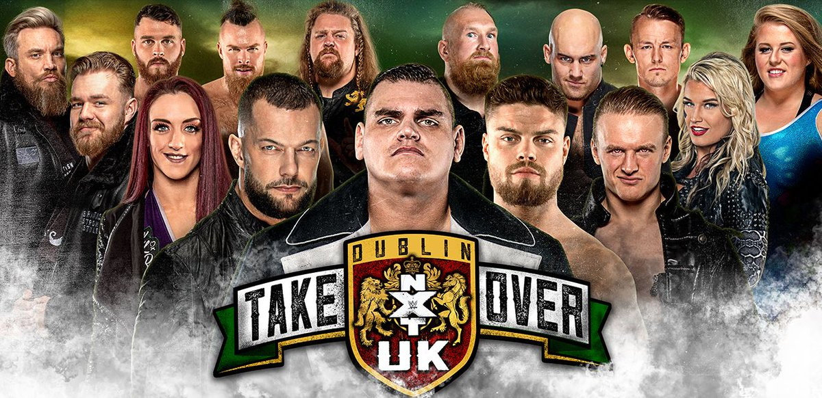 "WWE NXT UK ""Takeover: Dublin"" Postponed Due To The Coronavirus Pandemic"