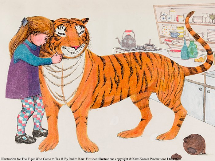 Time to get creative! Make your own talking animal, inspired by the tigers, cats and Gruffalos on #DiscoveringChildrensBooks.     Post your work using these hashtags, and together we'll build a magical zoo. #MakeaBook #letsgetdigital