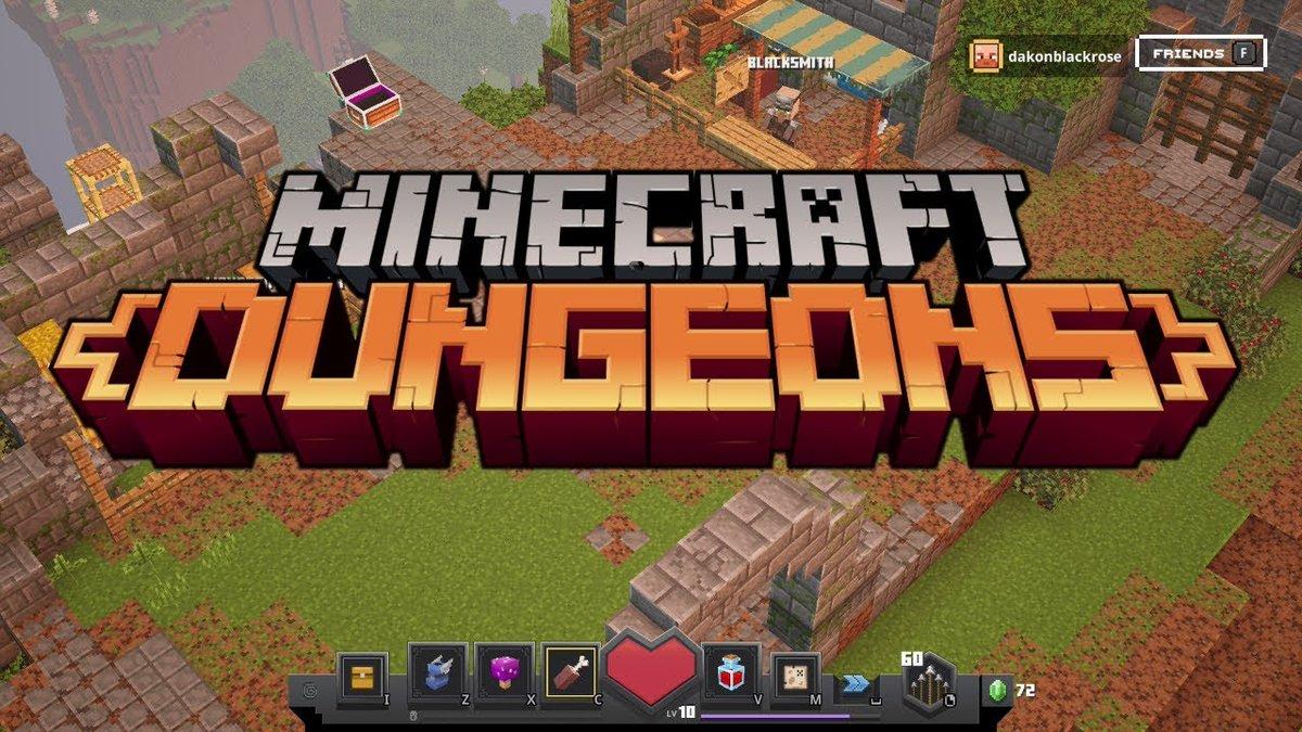 Minecraft dungeons gameplay ep1 ...