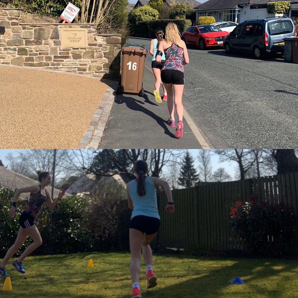 U12 Aimee & U16 Jess with some speed & endurance work #Sisters  pic.twitter.com/xWMUBRati4
