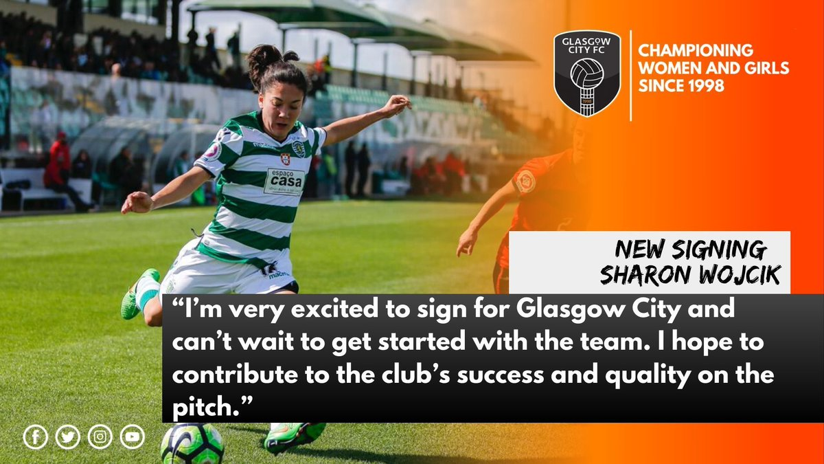 "✍ |  REACTION  The thoughts from our new signing Sharon ""Shay"" Wojcik"