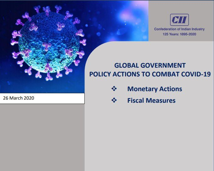 CII shares the different monetary actions and fiscal measures taken by governments all over the world. #cii4india  #IndiaFightsCorona  @PMOIndia  @narendramodi  @nsitharaman  @PiyushGoyal  @PIB_India    https://www.mycii.in/KmResourceApplication/65600.GlobalPolicyNewsletter26Mar2020.pdf  …