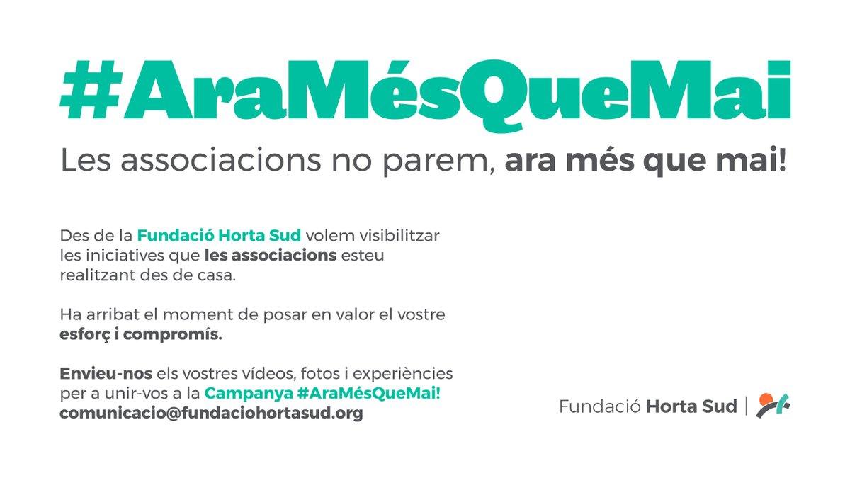 Fundación Horta Sud (@fhortasud) | Gorjeo