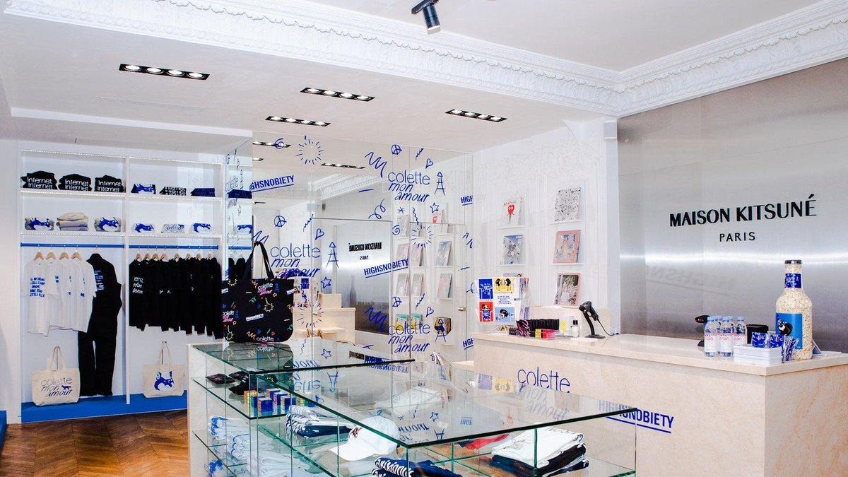 To all of you who used to love #shopping at #Colette #conceptstore in #Paris, here is a #shortmovie to enjoy at home right now    https://bit.ly/2xqDUkN via @VogueParis  #Parisian #Fashionistapic.twitter.com/elSZv4WS8G
